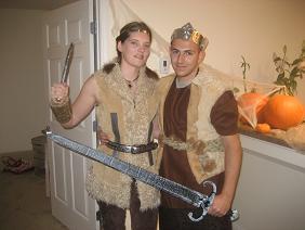 Homemade Viking Costumes